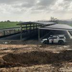 Waikato te break shed - 102m long and 25m wide
