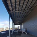 Levin Commercial Warehouse Building 42m x 20m and Canopy 42m x 6m – 7m bays