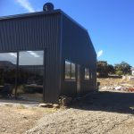 Cromwell Lifestyle Horse truck storage & accommodation 16.8m x 12m with Mezz Floor