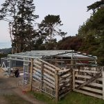Farm shed 10m long X 8m wide X 2.8m high