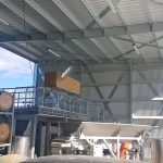Winery facility 11m wide X 20m long X 7m high